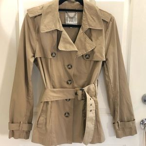 NEW BB Dakota Jacket Coat belt NWOT